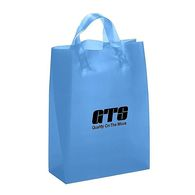 Frosted Colors Plastic Shopping Bag - 10
