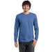 Young Men's Sized Retail Soft Cotton Long Sleeve Tee