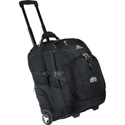 "High Sierra® Elite Wheeled Compu-Backpack Holds up to 17"" Laptops"