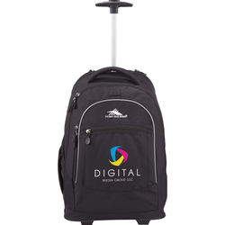 "High Sierra® Wheeled Compu-Backpack Holds up to a 16"" Laptop"