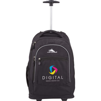 """High Sierra® Wheeled Compu-Backpack Holds up to a 16"""" Laptop"""