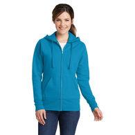Ladies' Full-Zip Hooded Fleece Sweatshirt - BUDGET