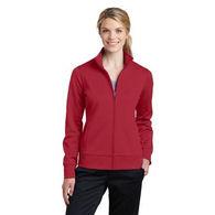 Ladies' Full-Zip Wicking Sweatshirt
