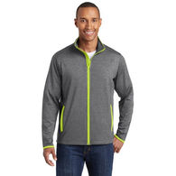Men's Moisture-Wicking EXTRA Stretchy Fitness Full-Zip Jacket