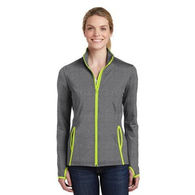 Ladies' Moisture-Wicking EXTRA Stretchy Fitness Full-Zip Jacket