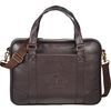 Faux Leather Business Laptop Brief - Holds up to 15