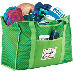 """12"""" x 17.5"""" Polyester Zippered Organizer Tote"""