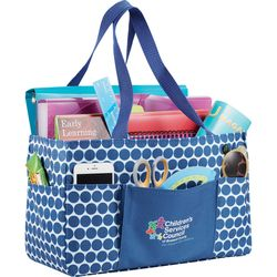 "8.5"" x 14"" Polyester Utility Tote"
