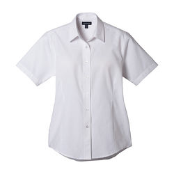 Quick Ship LADIES' Button-Down Short-Sleeve Shirt