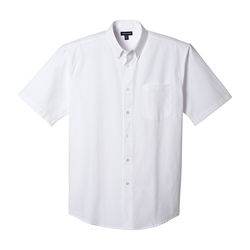 Quick Ship MEN'S Button-Down Short-Sleeve Shirt
