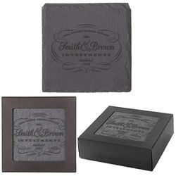 Slate Coaster Set of Four