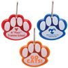 Paw Shape Reflective Collar Tag