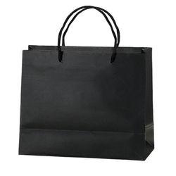 "Matte Paper Eurotote Bag - 13"" x 10"" - Foil Imprint"