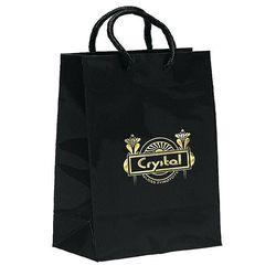 "Glossy Paper Eurotote Bag - 7.75"" x 9.75"" - Foil Imprint"