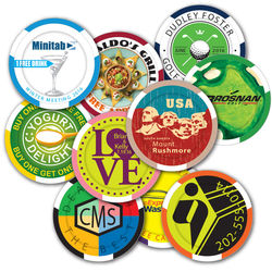 Regulation Weight Poker Chips/Ball Markers - STANDARD SERVICE, Wide Color Selection