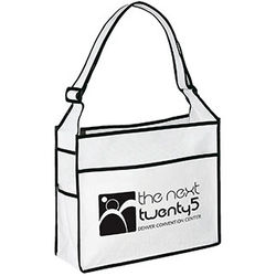 "14"" x 12"" Non-Woven Ultimate Jr. Shoulder Tote"