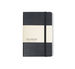 "3.5"" x 5.5"" Moleskine ® Hard Cover Ruled Pocket Notebook"