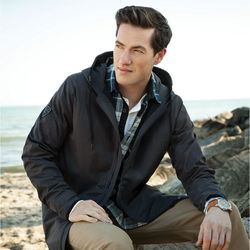 Quick Ship MEN'S Roots73™ Sleek and Modern Rain Jacket