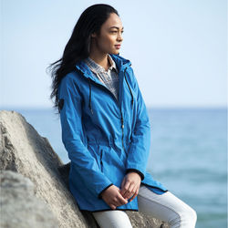 Quick Ship LADIES' Roots73™ Sleek and Modern Rain Jacket