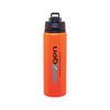 28 oz Aluminum Single-Wall Water Bottle with Threaded Flip-Top Lid