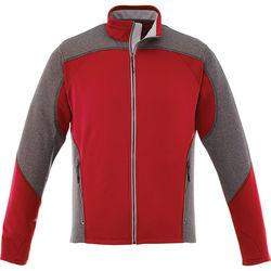 Quick Ship MEN'S Medium Weight Color Block Knit Jacket