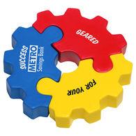 3 Piece Gear Stress Reliever Puzzle Set