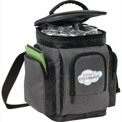 "Trendy ""Snow Canvas"" Polyester Cooler Bag"