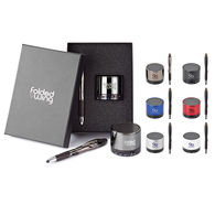 2-Piece Gift Set with Bluetooth Speaker and Stylus Pen