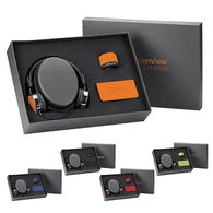3-Piece Gift Set with Headphones, Bluetooth Speaker, and 6000 mAh Universal Power Bank