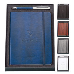2-Piece Gift Set with Pen and Journal