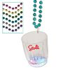 2 oz Light-Up Flashing Shot Glass Bead Necklaces