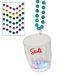 2 oz Light-Up Flashing Shot Glass Bead Necklaces