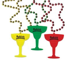 Margarita Glass Medallion Beads
