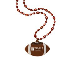 Football Medallion Beads
