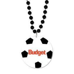 Soccer Medallion Beads