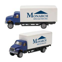 """4.25"""" Die-Cast Box Truck"""
