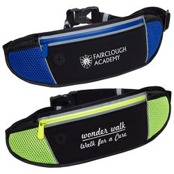Sleek Water Resistant Sports Waist Pack