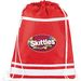 "14"" x 18"" Poly-Canvas Team Sports Drawstring Cinch Backpack"