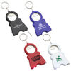 Multi-Tool Keytag with Bottle Opener, Knife, Light, and Tape Measure