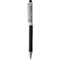 Carbon Fiber Ballpoint Stylus Pen (Combo Tip)