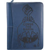 Letter-Size Faux Leather Zippered Padfolio