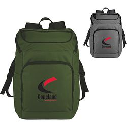 "Multi-Pocket Compu-Backpack Holds up to 15"" Laptops"