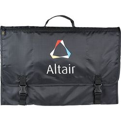 Folding Garment Bag with Zippered Pockets for Your Travel Essentials