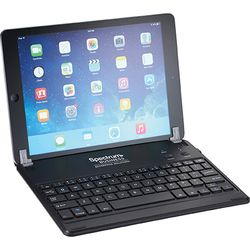 Mini Bluetooth Keyboard for Tablets Doubles as a Stand