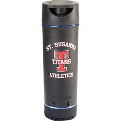 18 oz Zoom® Flask is Part Bluetooth Speaker, Part Bottle, Part Phone Stand, and All Function