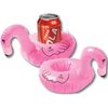Inflatable Pink Flamingo Beverage Coaster