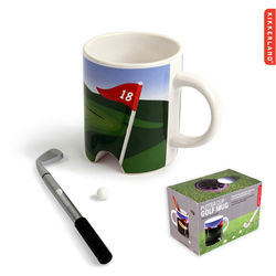 11 oz Clever Putter Cup Golf Mug is a Great Way to Pass the Time on Conference Calls
