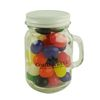 4.5 oz. Glass Mini Mason Jars with Jelly Beans