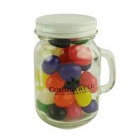 4.5 oz. Glass Mini Mason Jars with Jelly Beans