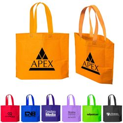 "13.5"" x 20"" Non-Woven Bag is Made in the USA"